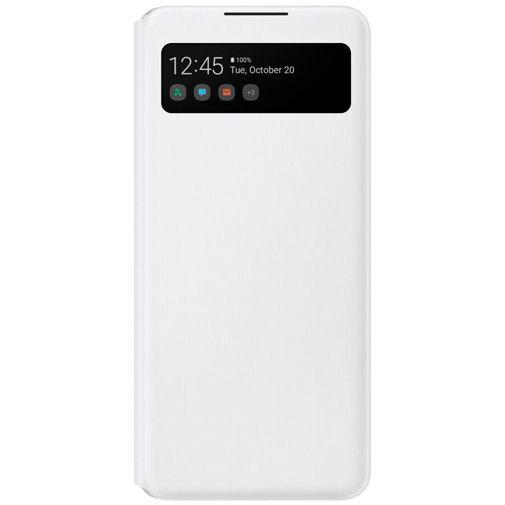 Productafbeelding van de Samsung S View Wallet Cover Samsung Galaxy A42 Wit
