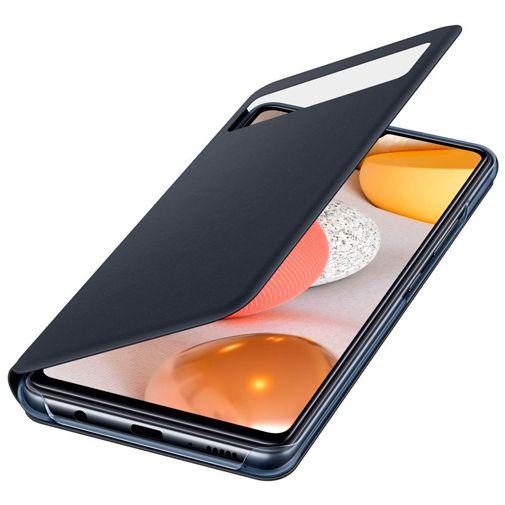 Productafbeelding van de Samsung S View Wallet Cover Samsung Galaxy A42 Zwart
