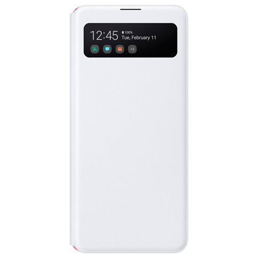Productafbeelding van de Samsung S View Wallet Cover White Galaxy A41