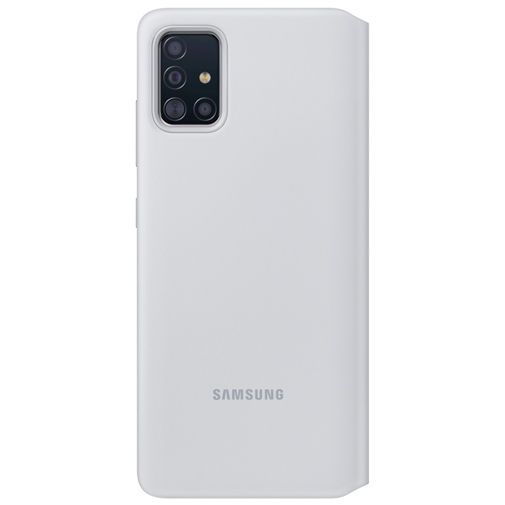 Productafbeelding van de Samsung S View Wallet Cover White Galaxy A71