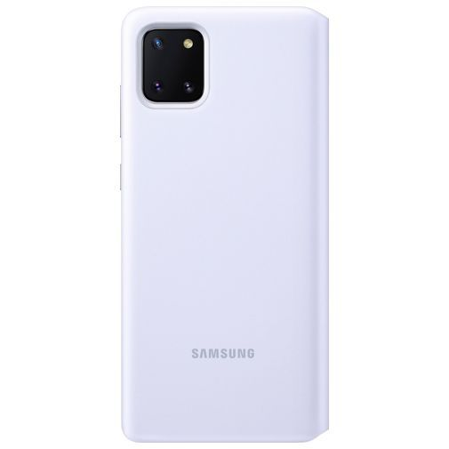 Productafbeelding van de Samsung S View Wallet Cover White Galaxy Note 10 Lite