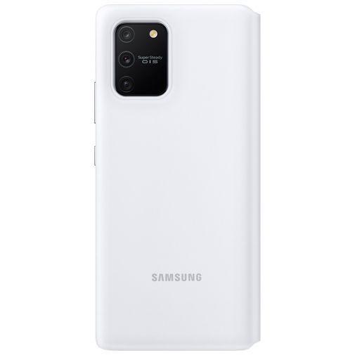 Produktimage des Samsung S View Wallet Case Weiß Galaxy S10 Lite
