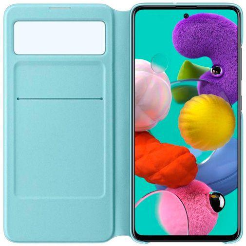 Produktimage des Samsung S View Wallet Case Schwarz Galaxy A51 4G