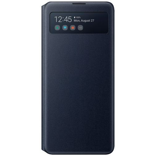 Produktimage des Samsung S View Wallet Case Schwarz Galaxy Note 10 Lite