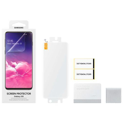 Produktimage des Samsung Displayschutzfolie Durchsichtig Galaxy S10