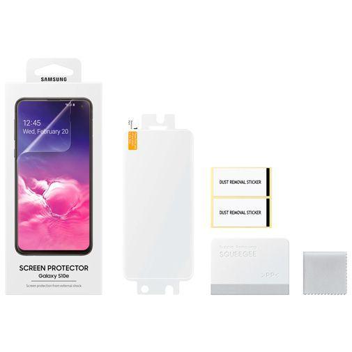 Productafbeelding van de Samsung Screenprotector Transparent Galaxy S10e