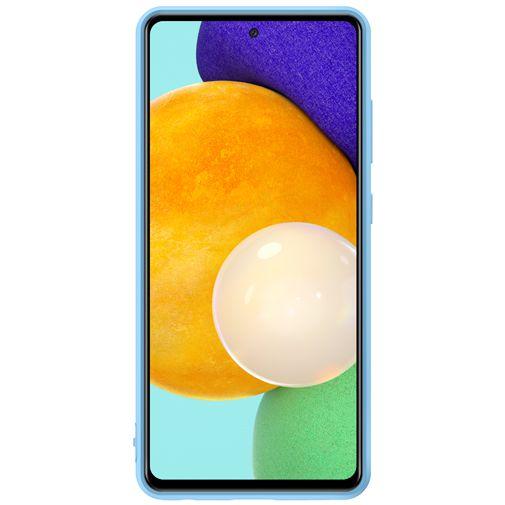 Productafbeelding van de Samsung Silicone Back Cover Blauw Samsung Galaxy A52