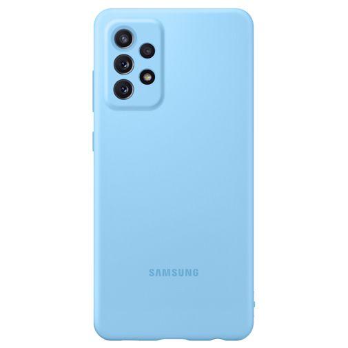 Productafbeelding van de Samsung Silicone Back Cover Blauw Samsung Galaxy A72