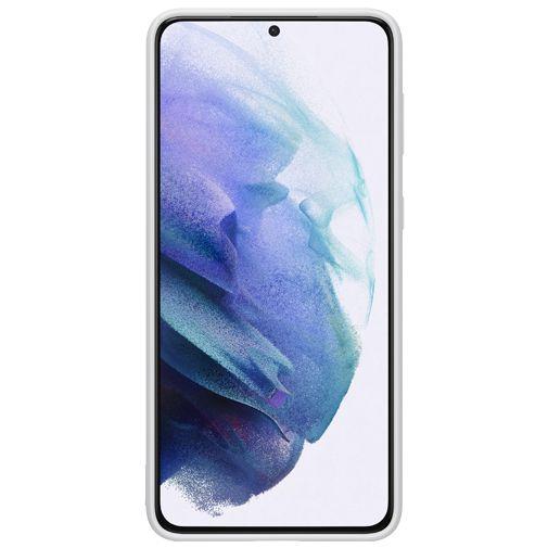 Productafbeelding van de Samsung Silicone Back Cover Grijs Samsung Galaxy S21+