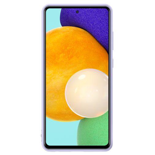 Productafbeelding van de Samsung Silicone Back Cover Paars Samsung Galaxy A72