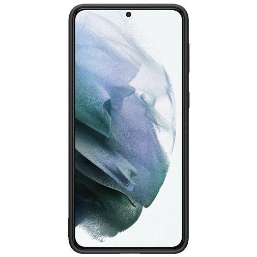 Productafbeelding van de Samsung Silicone Back Cover Zwart Samsung Galaxy S21+