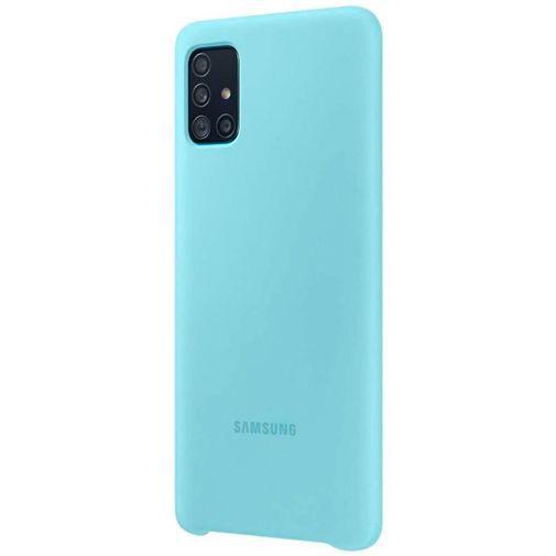 Productafbeelding van de Samsung Silicone Cover Blue Galaxy A51 4G