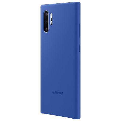 Produktimage des Samsung Silicone Cover Blau Galaxy Note 10+
