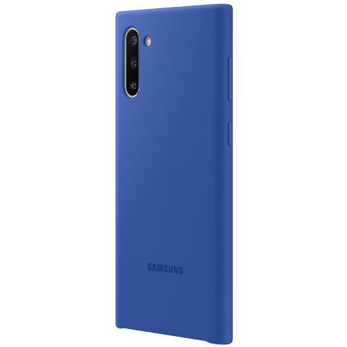 Produktimage des Samsung Silicone Cover Blau Galaxy Note 10