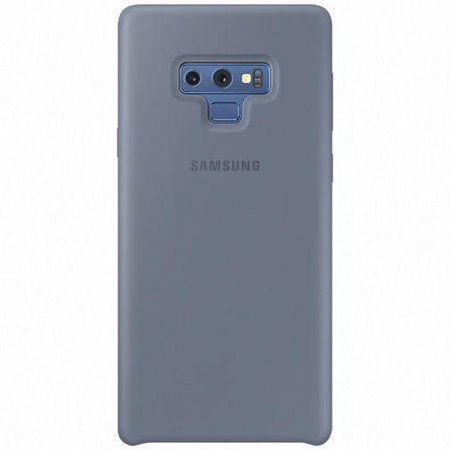 Productafbeelding van de Samsung Silicone Cover Blue Galaxy Note 9