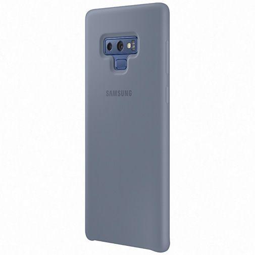 Produktimage des Samsung Silicone Cover Blau Galaxy Note 9