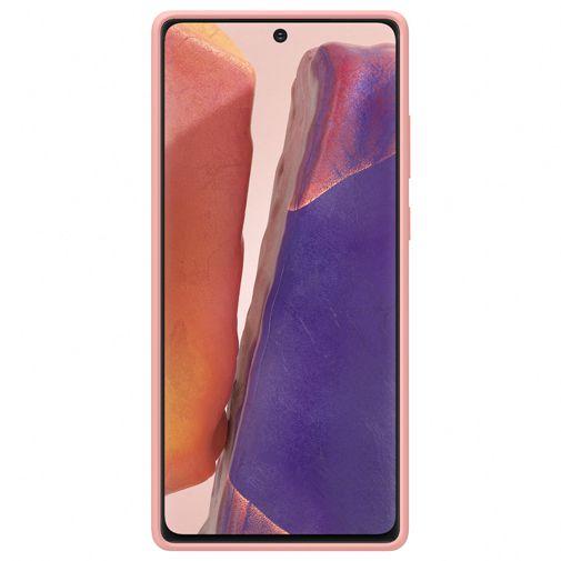 Productafbeelding van de Samsung Silicone Cover Bronze Galaxy Note 20