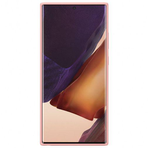 Productafbeelding van de Samsung Silicone Cover Bronze Galaxy Note 20 Ultra