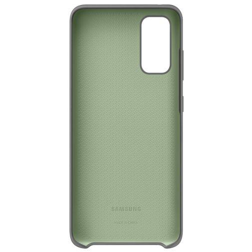 Productafbeelding van de Samsung Silicone Cover Grey Galaxy S20