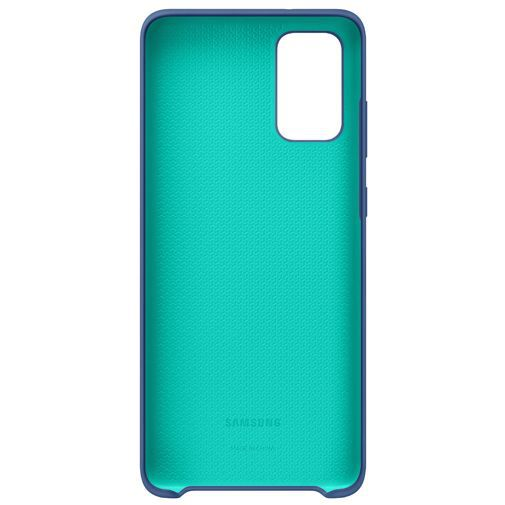 Produktimage des Samsung Silicone Cover Navy Blue Galaxy S20+