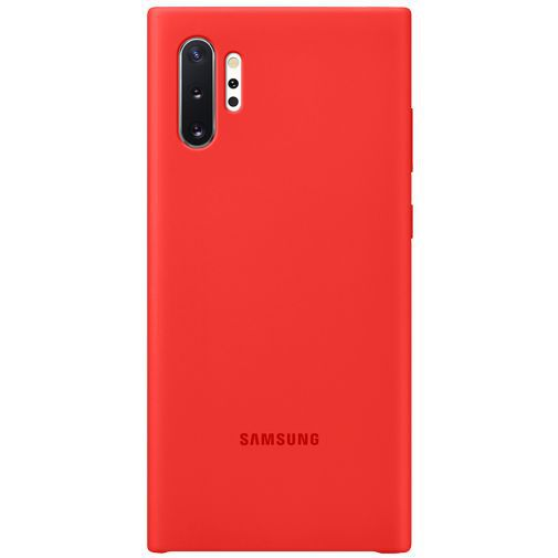 Produktimage des Samsung Silicone Cover Rot Galaxy Note 10+