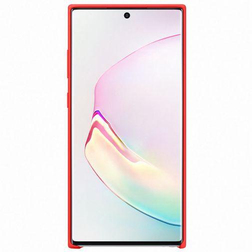 Productafbeelding van de Samsung Silicone Cover Red Galaxy Note 10+