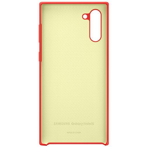 Produktimage des Samsung Silicone Cover Rot Galaxy Note 10