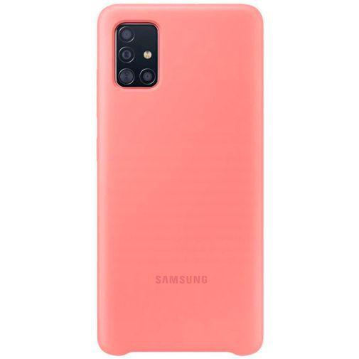Productafbeelding van de Samsung Silicone Cover Pink Galaxy A51