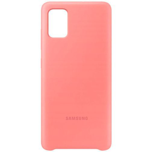 Produktimage des Samsung Silicone Cover Pink Galaxy A51 4G