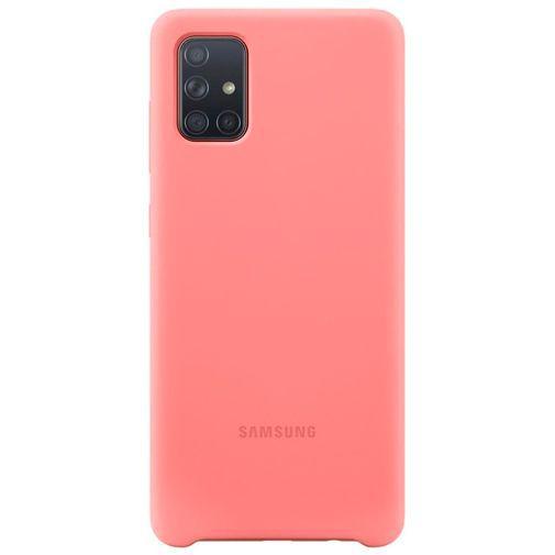 Productafbeelding van de Samsung Silicone Cover Pink Galaxy A71