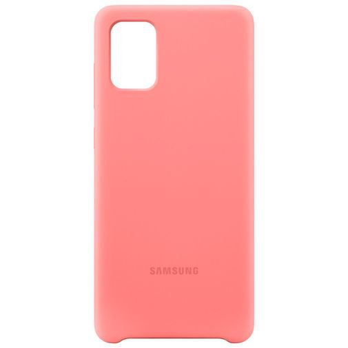 Produktimage des Samsung Silicone Cover Pink Galaxy A71