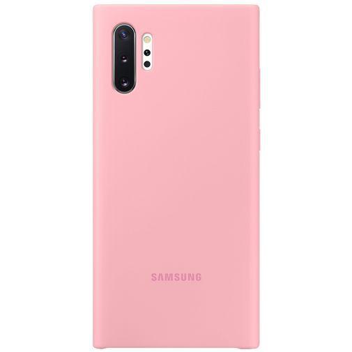 Productafbeelding van de Samsung Silicone Cover Pink Galaxy Note 10+