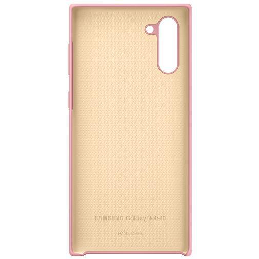 Productafbeelding van de Samsung Silicone Cover Pink Galaxy Note 10