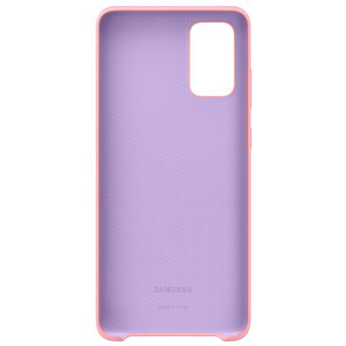 Produktimage des Samsung Silicone Cover Pink Galaxy S20+