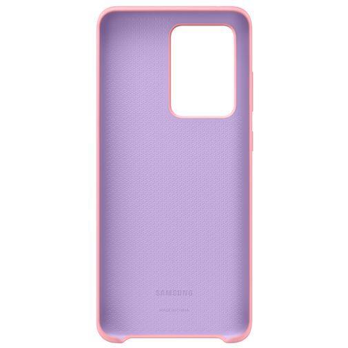 Productafbeelding van de Samsung Silicone Cover Pink Galaxy S20 Ultra