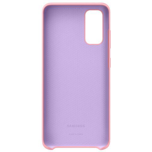 Productafbeelding van de Samsung Silicone Cover Pink Galaxy S20