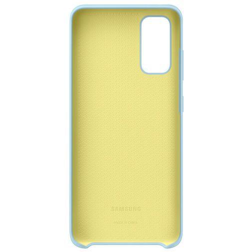 Productafbeelding van de Samsung Silicone Cover Sky Blue Galaxy S20