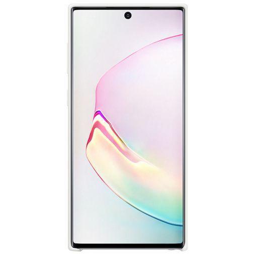 Produktimage des Samsung Silicone Cover Weiß Galaxy Note 10