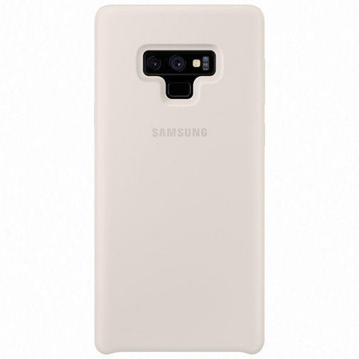 Productafbeelding van de Samsung Silicone Cover White Galaxy Note 9