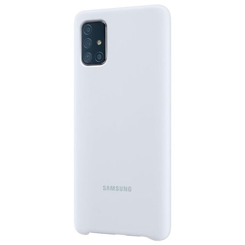 Produktimage des Samsung Silicone Cover Silber Galaxy A71