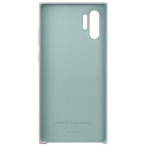 Productafbeelding van de Samsung Silicone Cover Silver Galaxy Note 10+