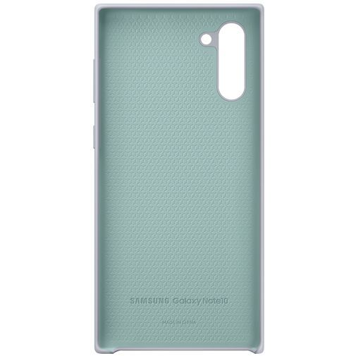Produktimage des Samsung Silicone Cover Silber Galaxy Note 10