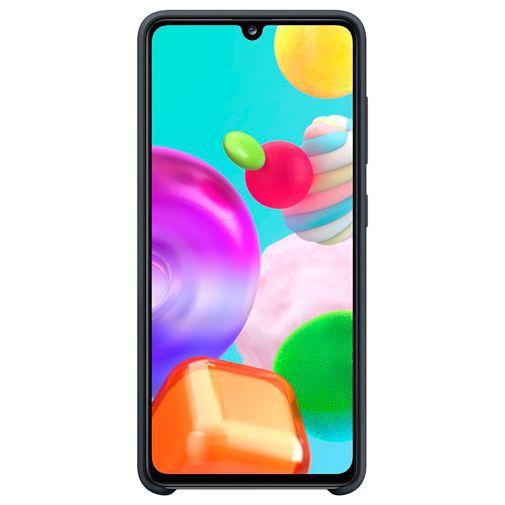 Productafbeelding van de Samsung Silicone Cover Black Galaxy A41