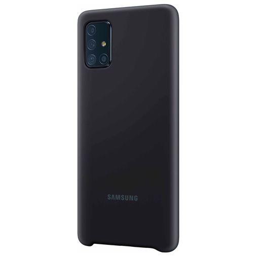 Produktimage des Samsung Silicone Cover Schwarz Galaxy A71