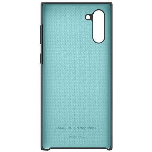 Produktimage des Samsung Silicone Cover Schwarz Galaxy Note 10