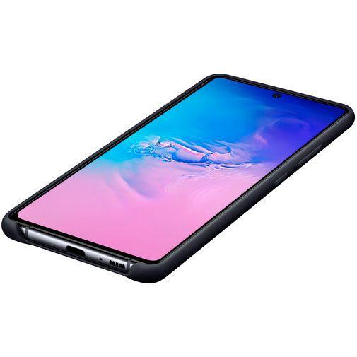 Productafbeelding van de Samsung Silicone Cover Black Galaxy S10 Lite