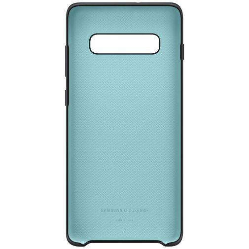 Productafbeelding van de Samsung Silicone Cover Black Galaxy S10+
