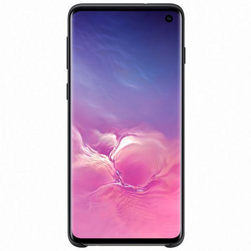 Produktimage des Samsung Silicone Cover Schwarz Galaxy S10 G973