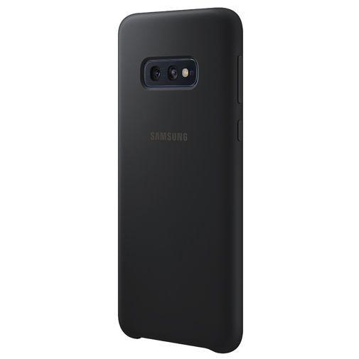 Produktimage des Samsung Silicone Cover Schwarz Galaxy S10e