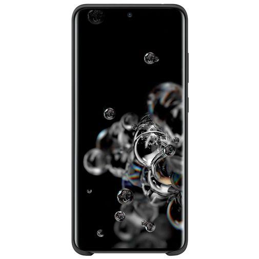 Productafbeelding van de Samsung Silicone Cover Black Galaxy S20 Ultra